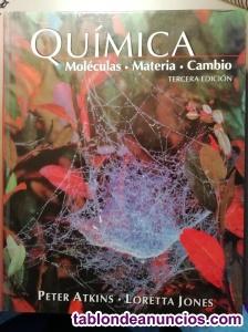 3 libros: Química, Ingeniería química y Ciencias de la