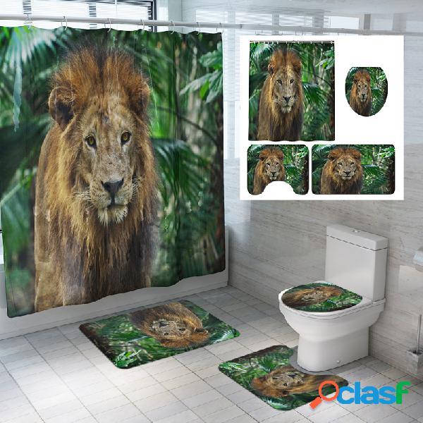 1.8M Baño Cuarto de baño Decoración Juego de cortinas de