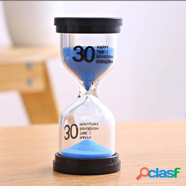 1/3/5/10/15/30 Minutos Sandglass Reloj de arena Temporizador