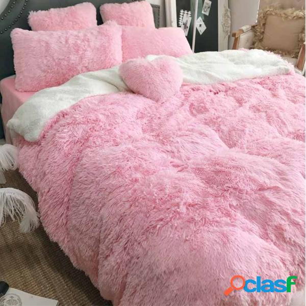 200 cm de largo de felpa Ultra Soft Juego de sábanas