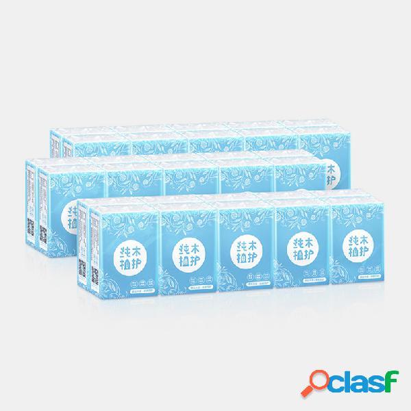 30 paquetes de papel de seda agradable para la piel Toallas