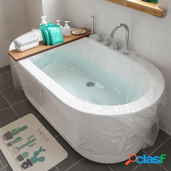 5PCS / Set Cubierta de revestimiento de bañera desechable