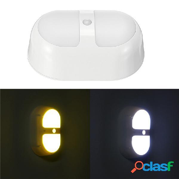 8 LED Luz nocturna Detector de movimiento inalámbrico Pared