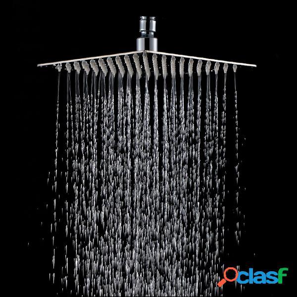 8 pulgadas de acero inoxidable de lluvia cabeza de ducha de