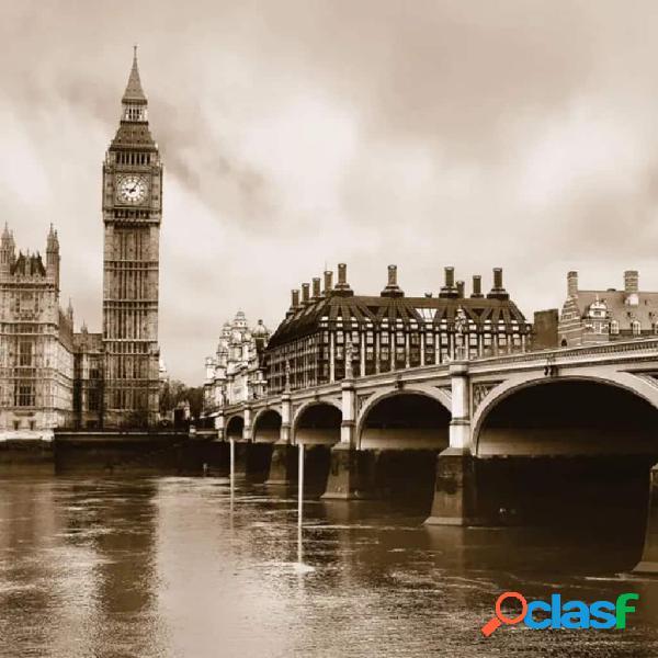 AG Design Papel de pared fotográfico London FTS0480