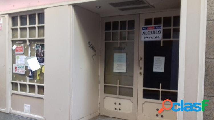Alquiler de local en el Centro Comercial Abierto de Tarazona