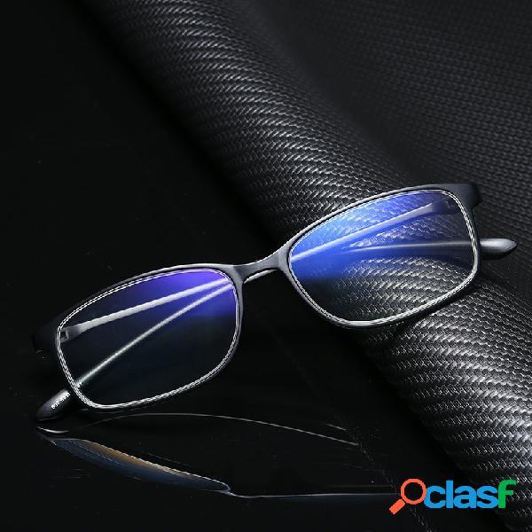 Anti-Blue Light Reading Gafas Unisex Ultra-Light TR90