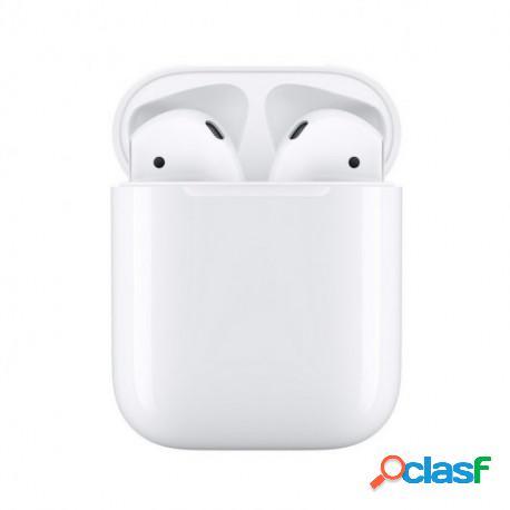 Apple Airpods V2 Auriculares Inalámbricos con Estuche de