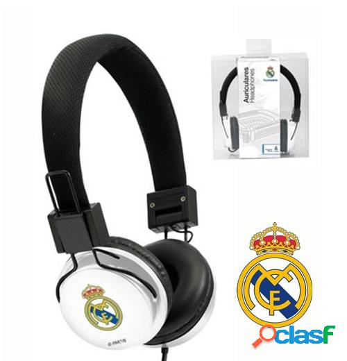 Auriculares Real Madrid Blanco