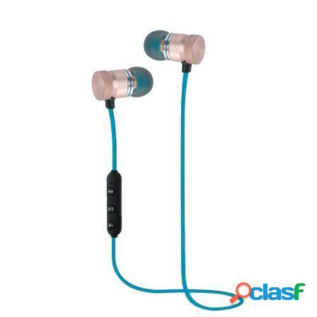 Auriculares bluetooth woxter airbeat bt-7 blue - bt4.2 -