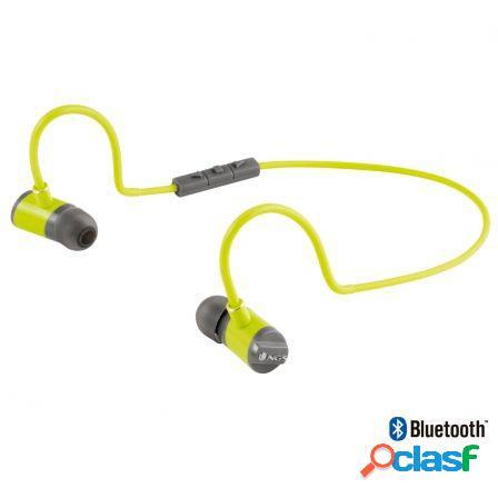 Auriculares deportivos por bluetooth ngs artica swing