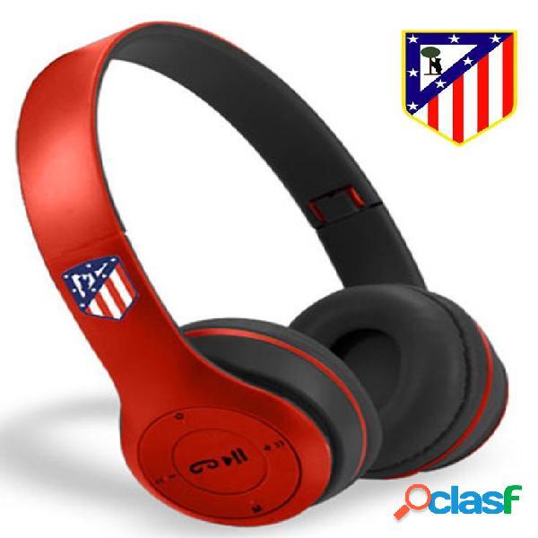 Auriculares inalambricos Bluetooth Atletico de Madrid