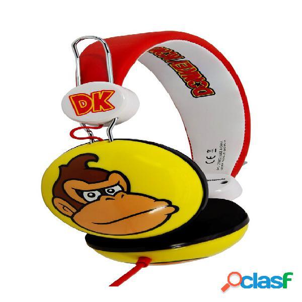 Auriculares infantiles Donkey Kong