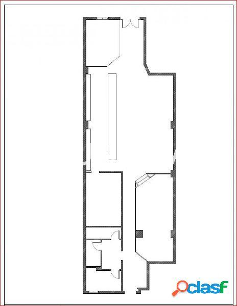 BAR/RESTAURANTE ALQUILER Y TRASPASO DE 200 m2,REFORMADO Y