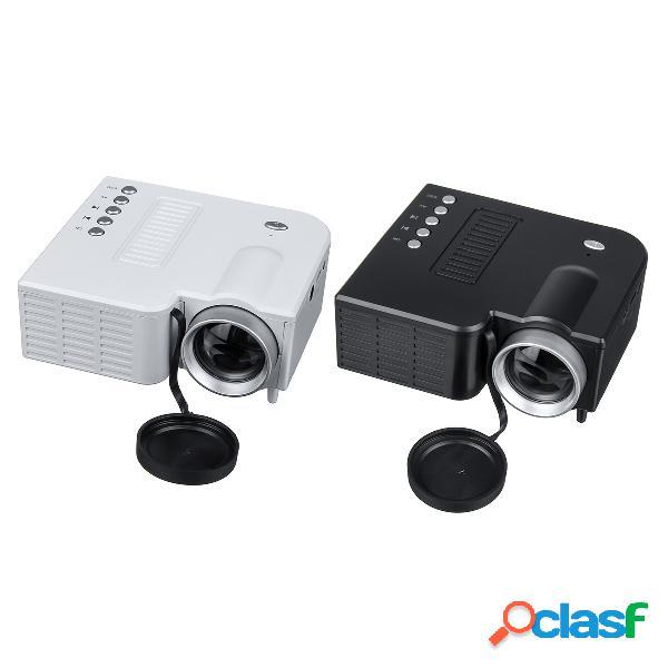 Bakeey HD LED Proyector Mini cine en casa HDMI USB VGA AV