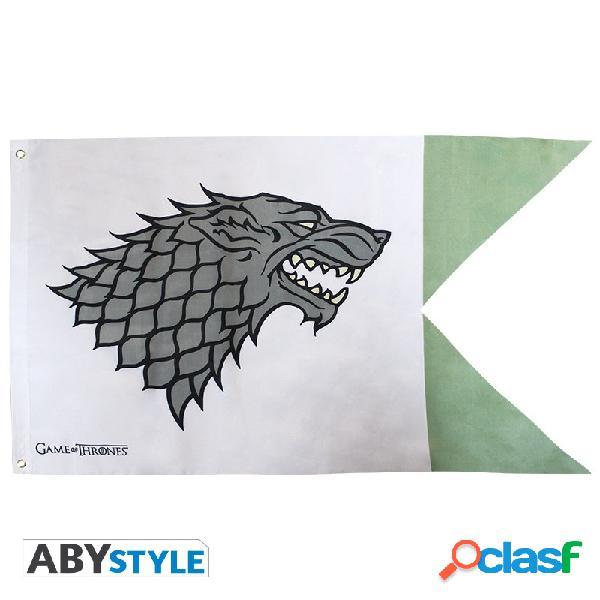 Bandera Juego de Tronos Stark 70 x 120 cm