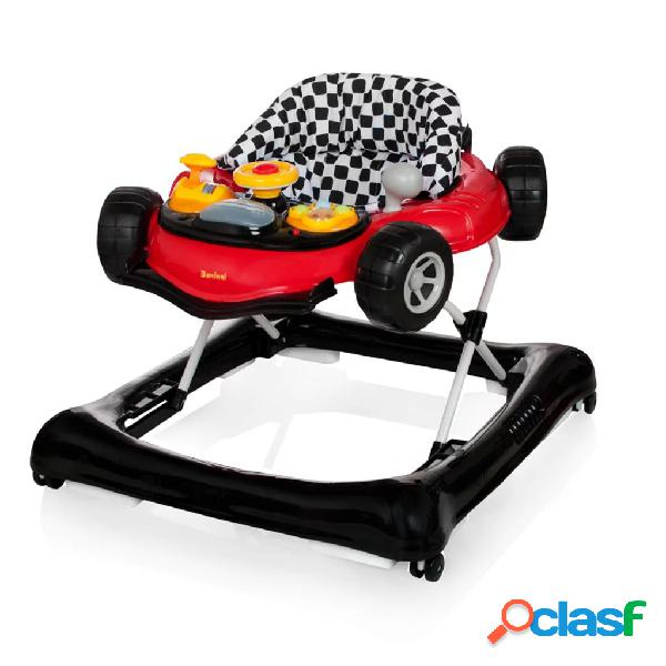 Baninni Andador para bebés Vitali rojo y negro BNBW006-RDBK