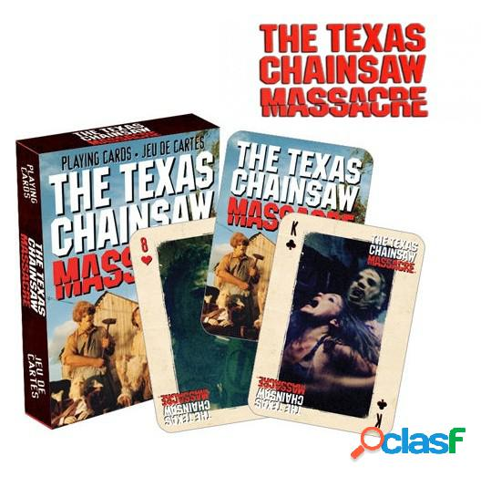 Baraja de cartas de Poker La Matanza de Texas