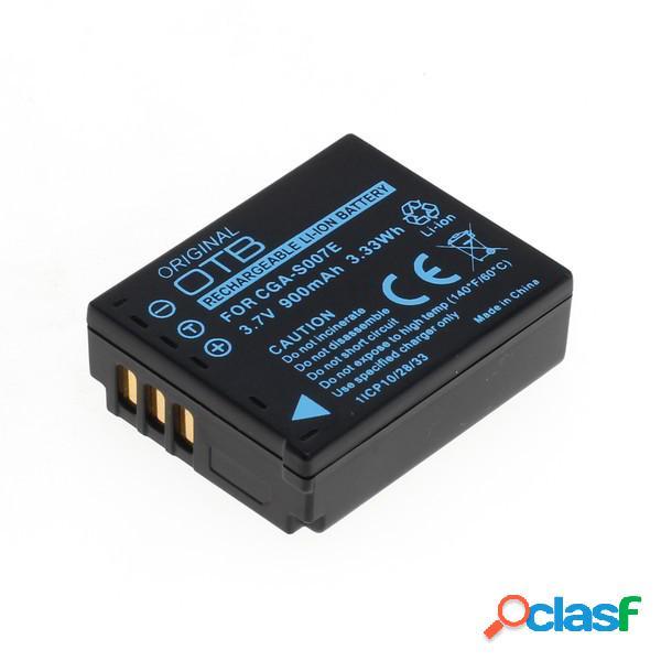 Bateria para Panasonic Cga-S007, Dmw-Bcd10, Litio Ion