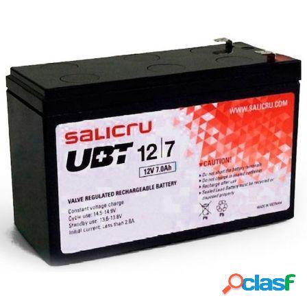 Bateria para sai salicru ubt 12/7 v2 - 12v - 6 celdas -
