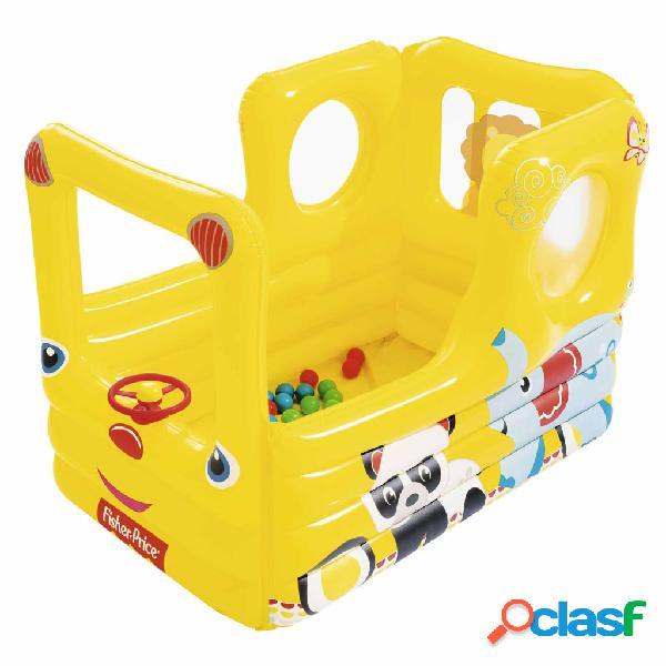 Bestway Autobús escolar de juego Fisher Price Lil' Learner