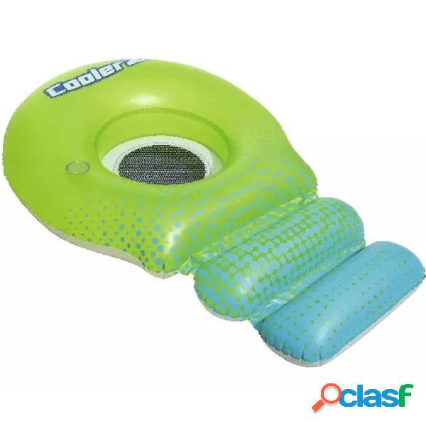 Bestway Flotador de piscina Coolerz Hydro-Force verde