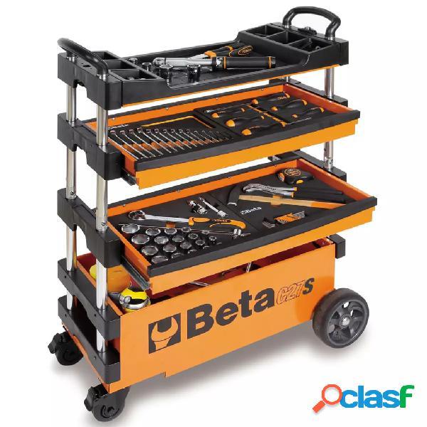 Beta Tools carro portaherramientas plegable de acero C27S-O