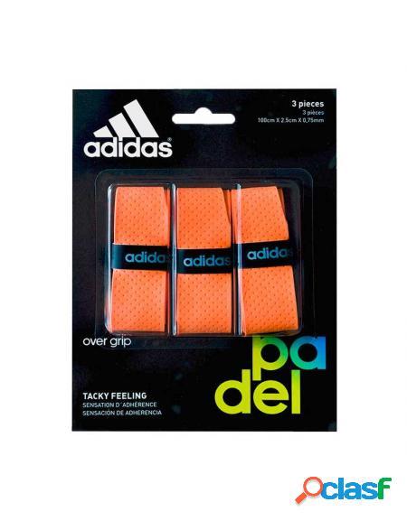 Blister overgrips Adidas 3 uds Naranja - Overgrips