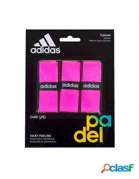 Blister overgrips Adidas 3 uds Rosa - Overgrips