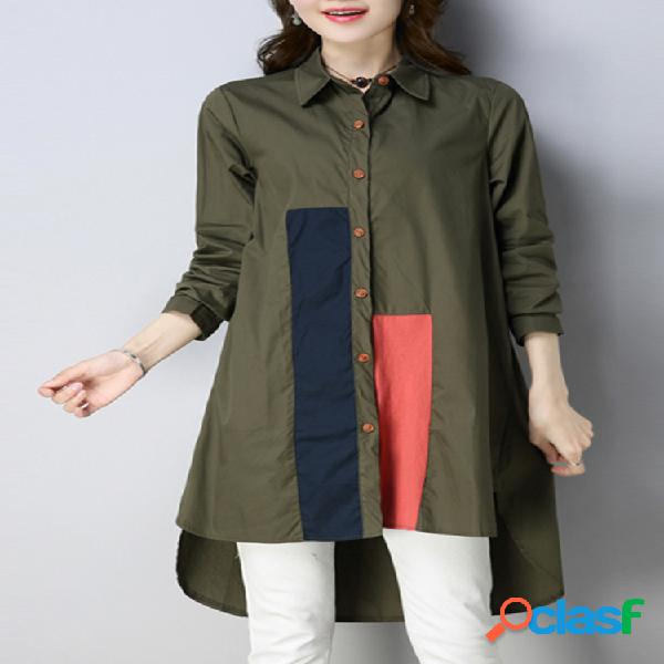 Blusas de manga larga casual para mujeres