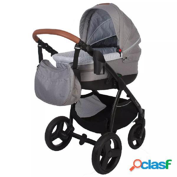 Bo Jungle Silla/Coche de bebé 4 en 1 B-Zen gris claro