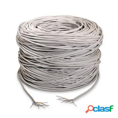 Bobina de cable aisens a133-0214 - cat5e - utp rigido -