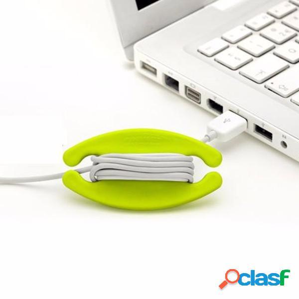 Bobino Silicone Earphone Wire Organizer Cable USB Bobbin