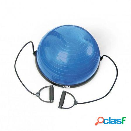 Bola de equilibrio con extensores jocca 6215 - tonifica y