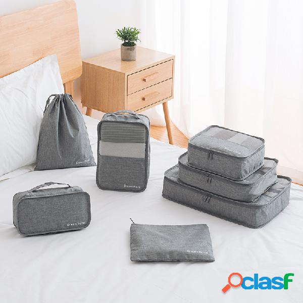 Bolsa de almacenamiento de ropa de viaje a prueba de agua