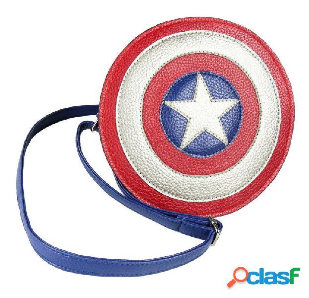 Bolso redondo Capitan America Marvel