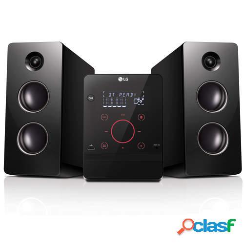 Cadena de música LG CM2760 - 160W, Bluetooth, TV Sound