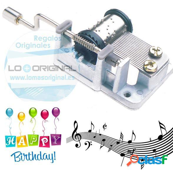 Caja musical Happy Birthday to you
