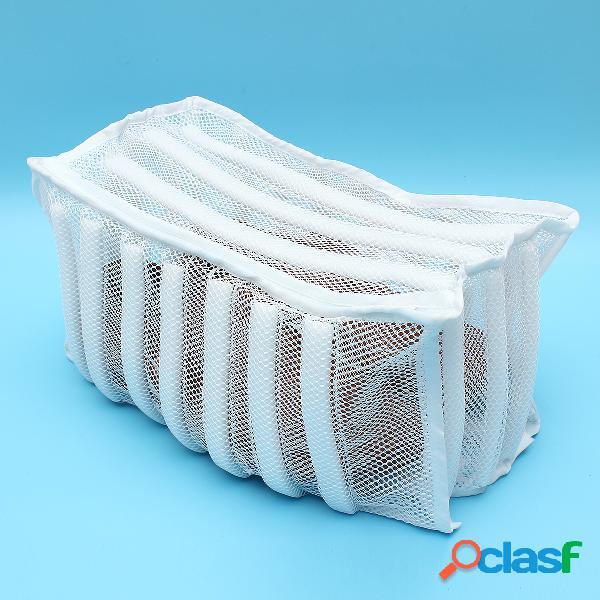 Calzado Zapatilla Lavadora Secadora Bolsa de lavado de malla