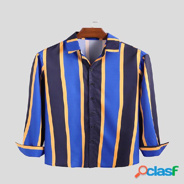 Camisas de manga larga transpirables de manga corta con