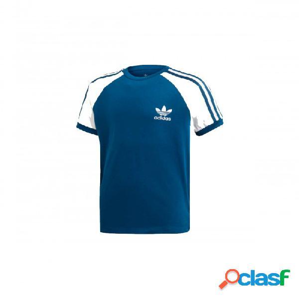 Camiseta Adidas 3stripes Tee 10a Azul