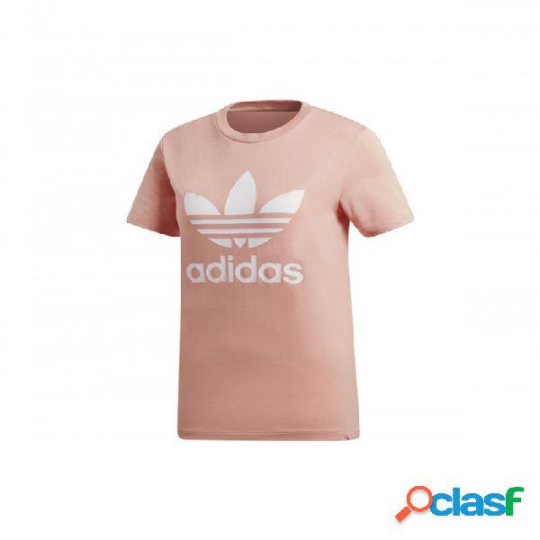 Camiseta Adidas Trefoil Tee 38 Rosa