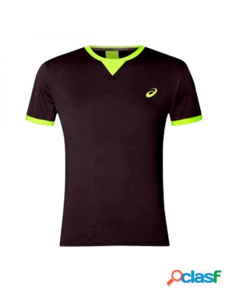 Camiseta Asics SS TOP Negro - Ropa padel Asics