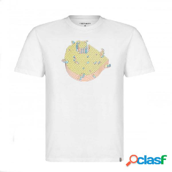 Camiseta Carhartt Pixel T-shirt Blanco Blanco M
