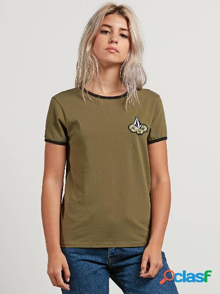 Camiseta Keep Goin Ringer - Dark Camo