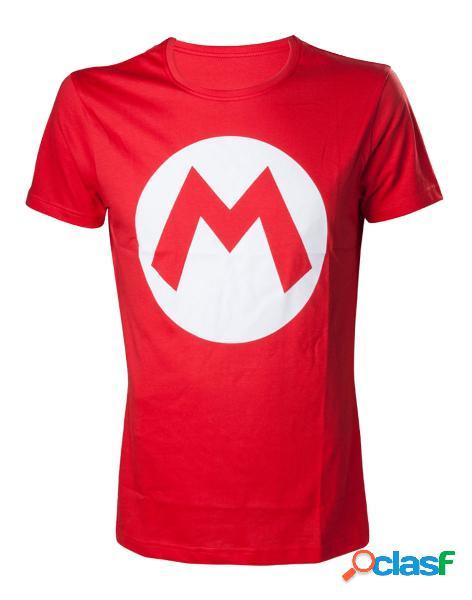 Camiseta Mario Logo Talla L