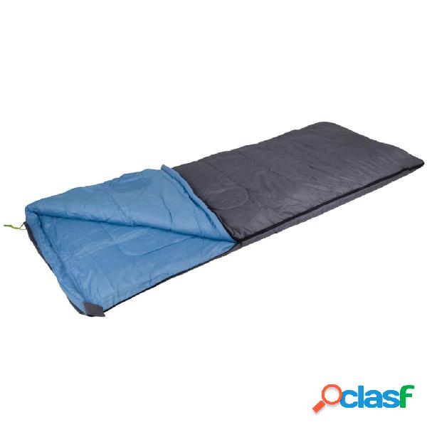 Camp Gear Saco de dormir Comfort 220x80 cm gris y azul