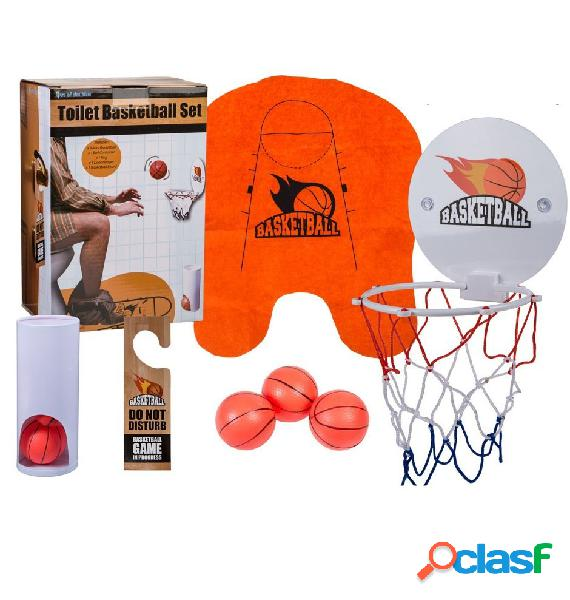 Canasta de baloncesto para WC