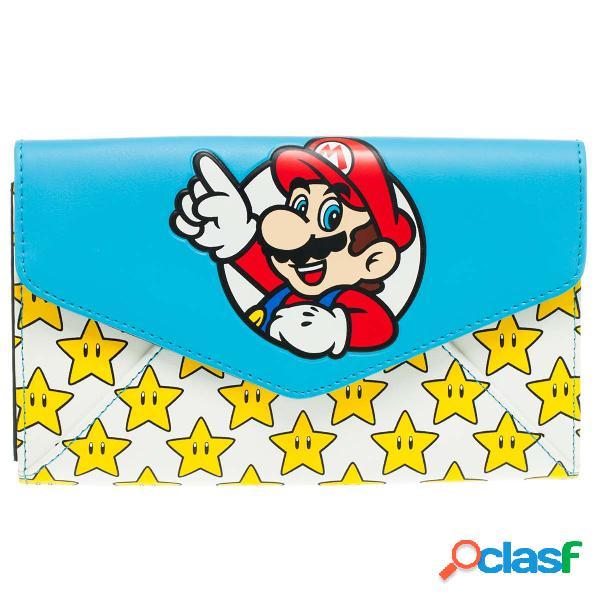 Cartera Super Mario Estrellas