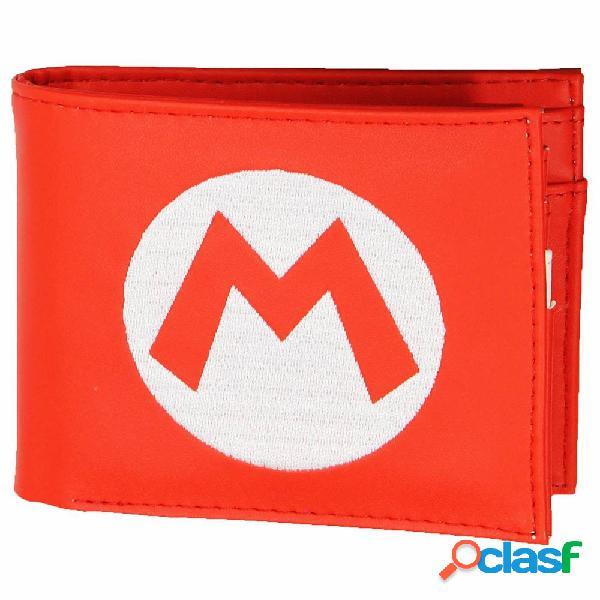 Cartera Super Mario Logo